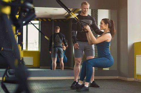 1 alkalom TRX vagy gerinctorna személyi edzés