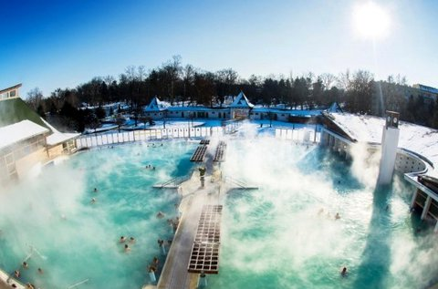 4 napos téli feltöltődés fürdőbelépővel Harkányban