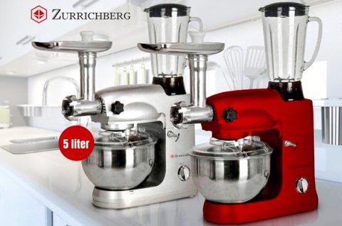 Zürrichberg 4 az 1-ben konyhai robotgép
