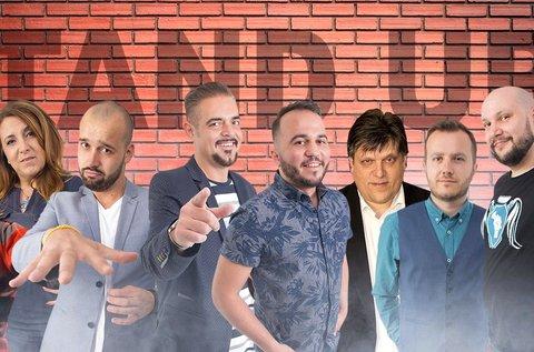 Stand up comedy est cseh sörrel, finom vacsorával