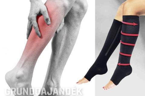 Speciális kompressziós zokni lábdagadás ellen