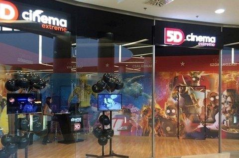 5D Cinema Extreme belépőjegy 2 fő részére