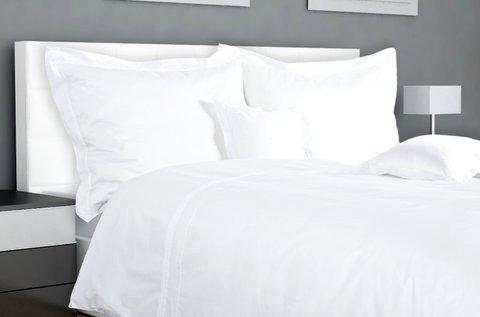 7 részes hófehér, pamut ágyneműhuzat garnitúra