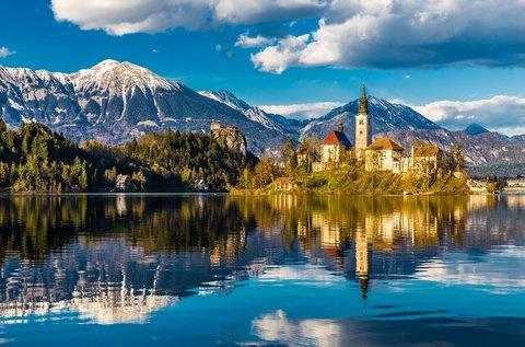 Szlovéniai pihenés a festői Bledi-tó partján