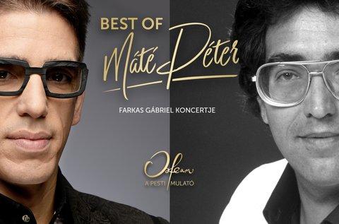 Best of Máté Péter koncert tapas tállal