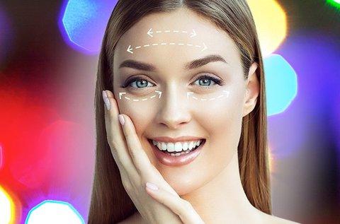 Sima arcbőr HIFU Ultra Age feszesítő kezeléssel