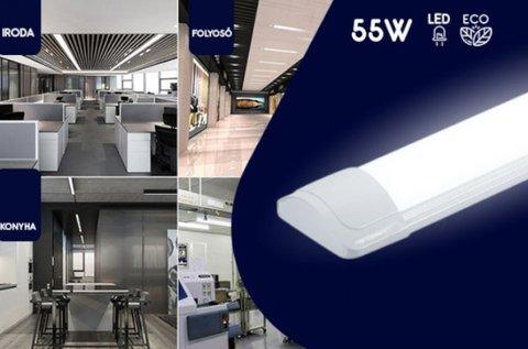 55 W-os mennyezeti LED fénycső