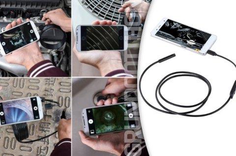 5 m-es vízálló Android endoszkóp kamera