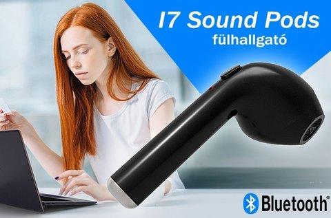 1 db I7 Sound Pods bluetooth-os fülhallgató
