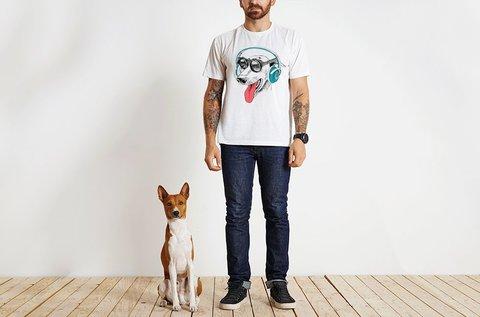 Kutyás póló választható mintával