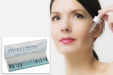 15 darab bőrfiatalító Hyaluron Cosmetic ampulla