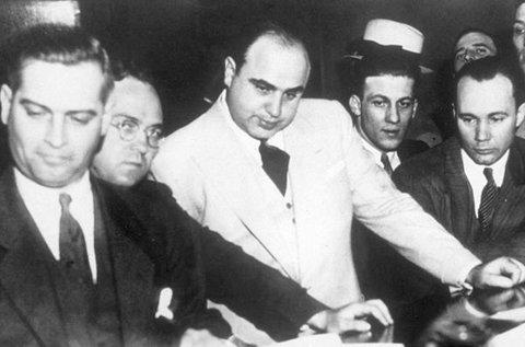 Al Capone szabadulós játék korhű környezetben