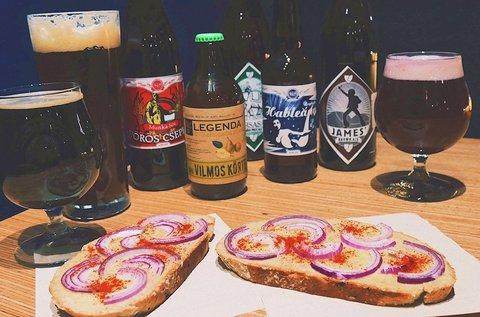 Különleges kézműves sörök sörkorcsolyával