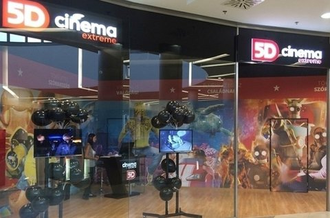 5D Cinema Extreme belépőjegy 2 főnek