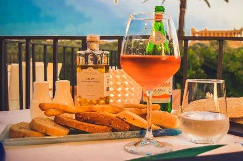 Szicíliai vacsora és főzőklub bor-, olívakóstolóval