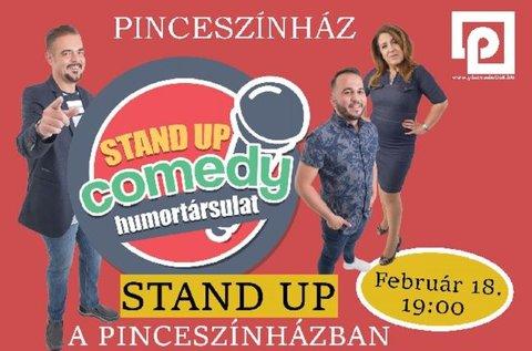 Belépő a Szakítópróba című stand up comedy estre