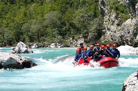 Vadvízi kalandok 1 fő részére a Soca-folyón