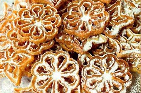 Rózsafánk, virágfánk sütőforma készlet
