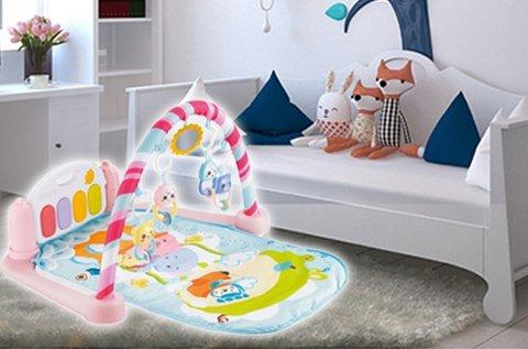 Kreatív fejlesztő játszószőnyeg babáknak