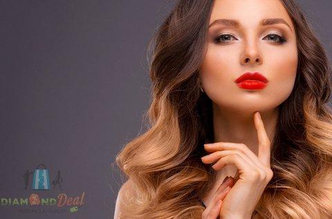 Balayage hajfestés vágással és szárítással