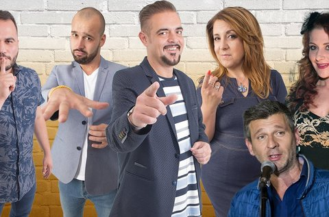 Tematikus stand up comedy est snack vacsorával