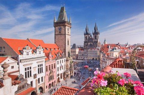 Barangolás a csodás Prágában, hétvégén is