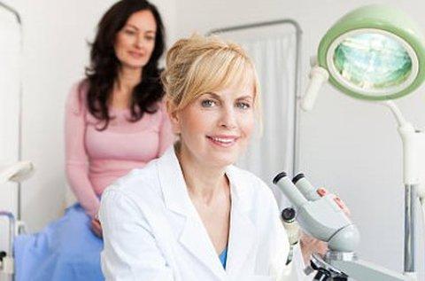Nőgyógyászati kivizsgálás fertőzések felderítésével