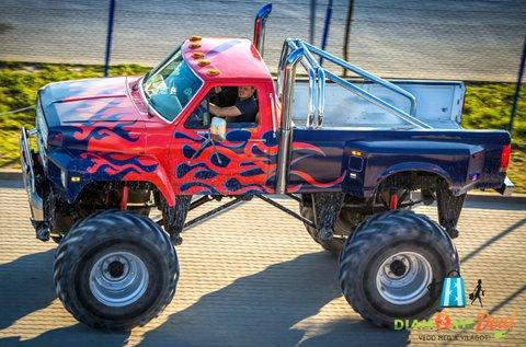 3 körös Monster Truck BigFoot vezetés Gyálon