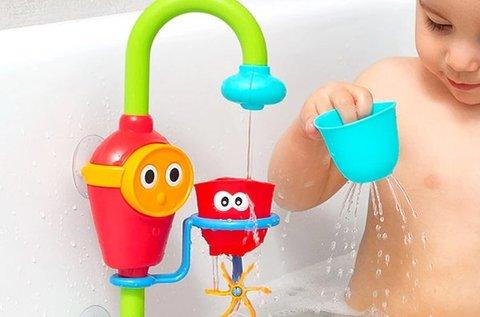 Mókás Flow & Fill fürdőjáték gyerekeknek