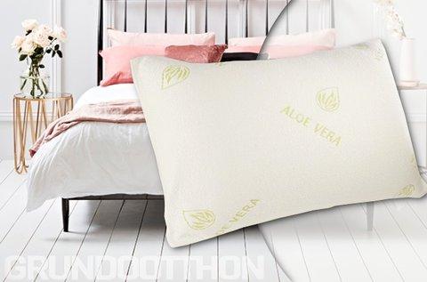 Memóriahabos aloe vera párna a minőségi alvásért