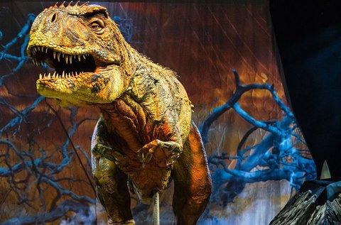 Séta a dinoszauroszokkal showműsor belépők