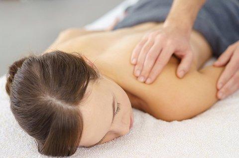 45 perces stresszoldó nyak-, váll- és hátmasszázs