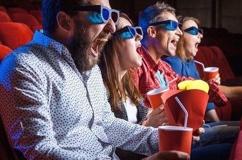 Animációs 8D Cinema szimulátor belépőjegy