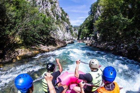 2 napos rafting túra a Neretva folyó völgyében