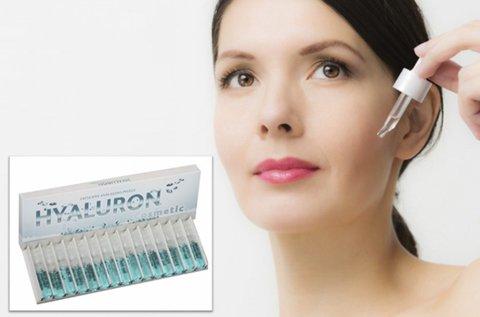 15 db Hyaluron Cosmetic bőrfiatalító ampulla