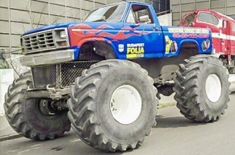 Adrenalinlöket Monster Truck BigFoot vezetéssel