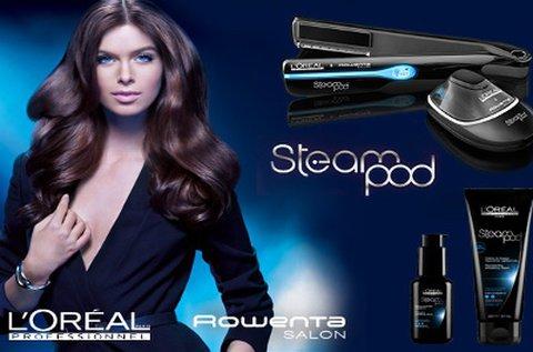 L'Oréal SteamPod hajújraépítés és formázás