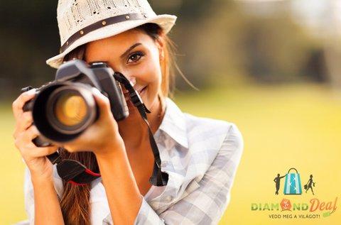 4 órás privát fotós képzés profi oktatóval