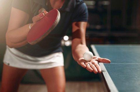 Asztali teniszezés 60 percben akár 4 főnek