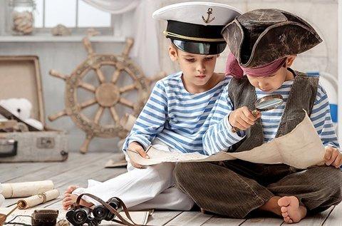 Kalóz Gyermek Show a Balatonon kincskereséssel