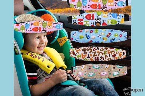 Párnázott fejpánt autós gyermeküléshez