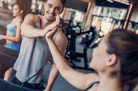Páros személyi edzés a Mecca gymben