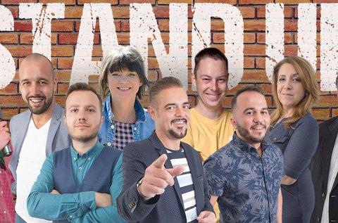 Stand Up Comedy belépők vacsorával 1 főnek