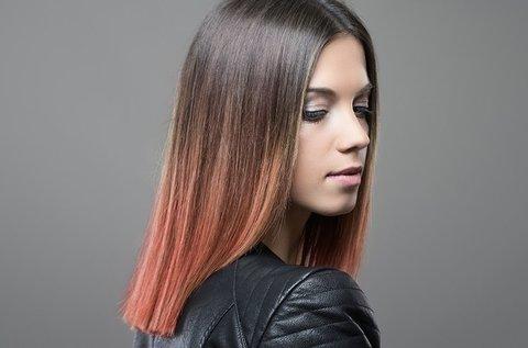 Divatos, új frizura készítése Balayage festéssel